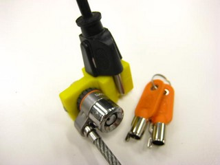 electric cor plug lock using your Microsaver or Clicksafe